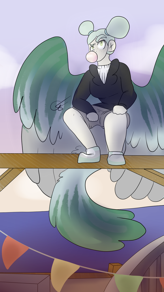 A Not So Lonely Pidgeon by ShrimpLeafCake