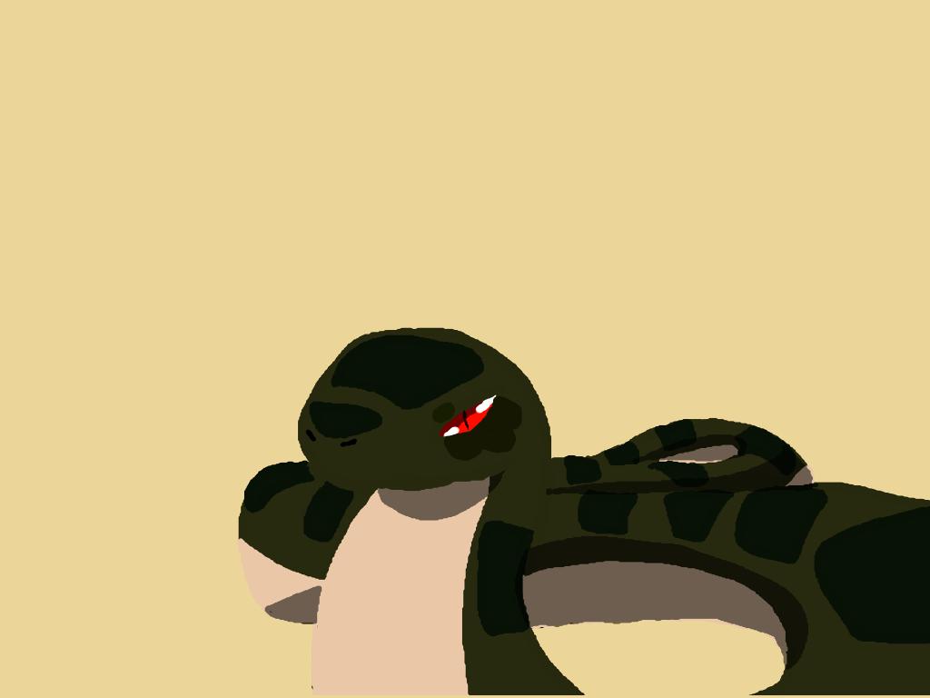 Snake Desktop Background by ShrimpLeafCake