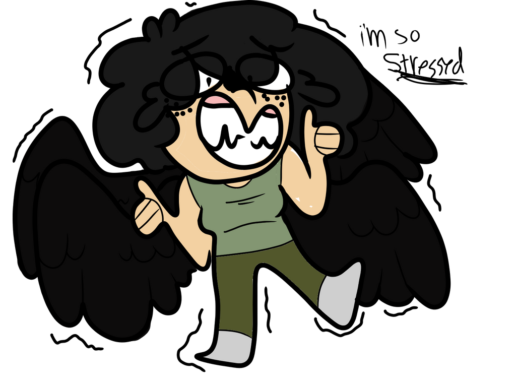 *screaming* by ShrimpLeafCake