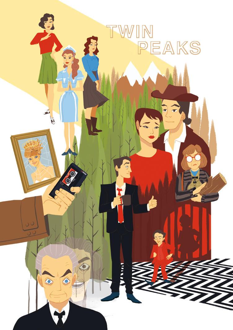 Twin Peaks by Pikila