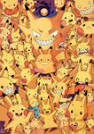 Full of Pikachus - Collab with Willow-San