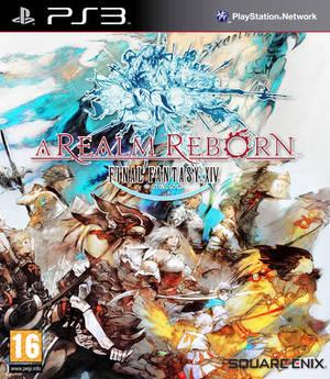 Final Fantasy XIV: A Realm Reborn Box Cover