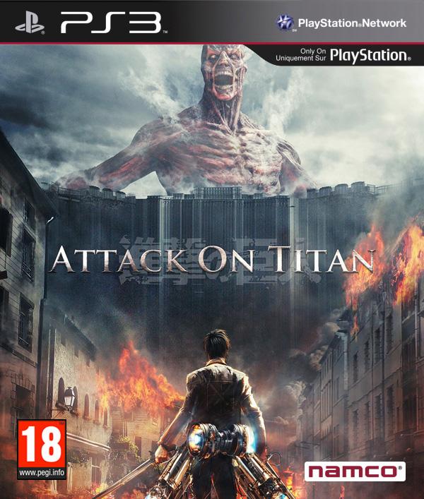 Attack on Titan PS3 cover by RimComics