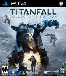 Titanfall PS4 cover