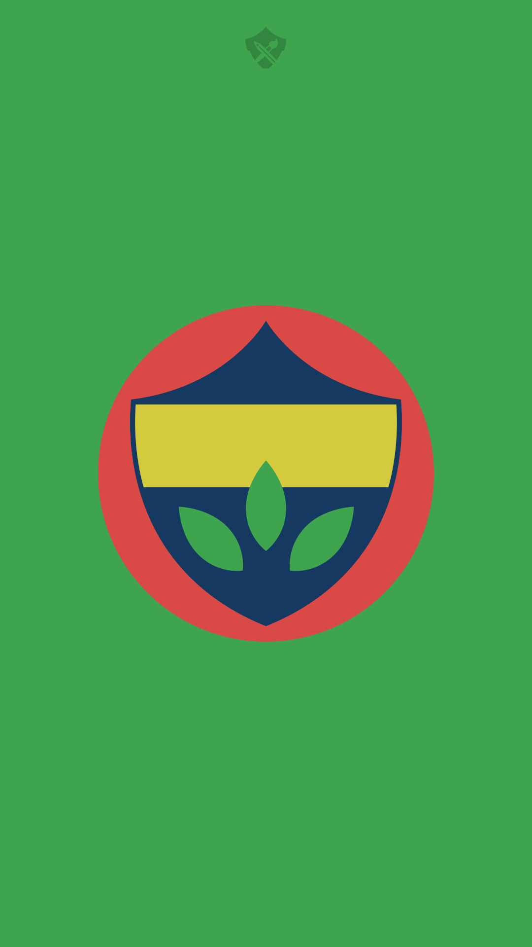 Fenerbahce minimal logo wallpaper by omerozcangrafik on for Minimal art 2016