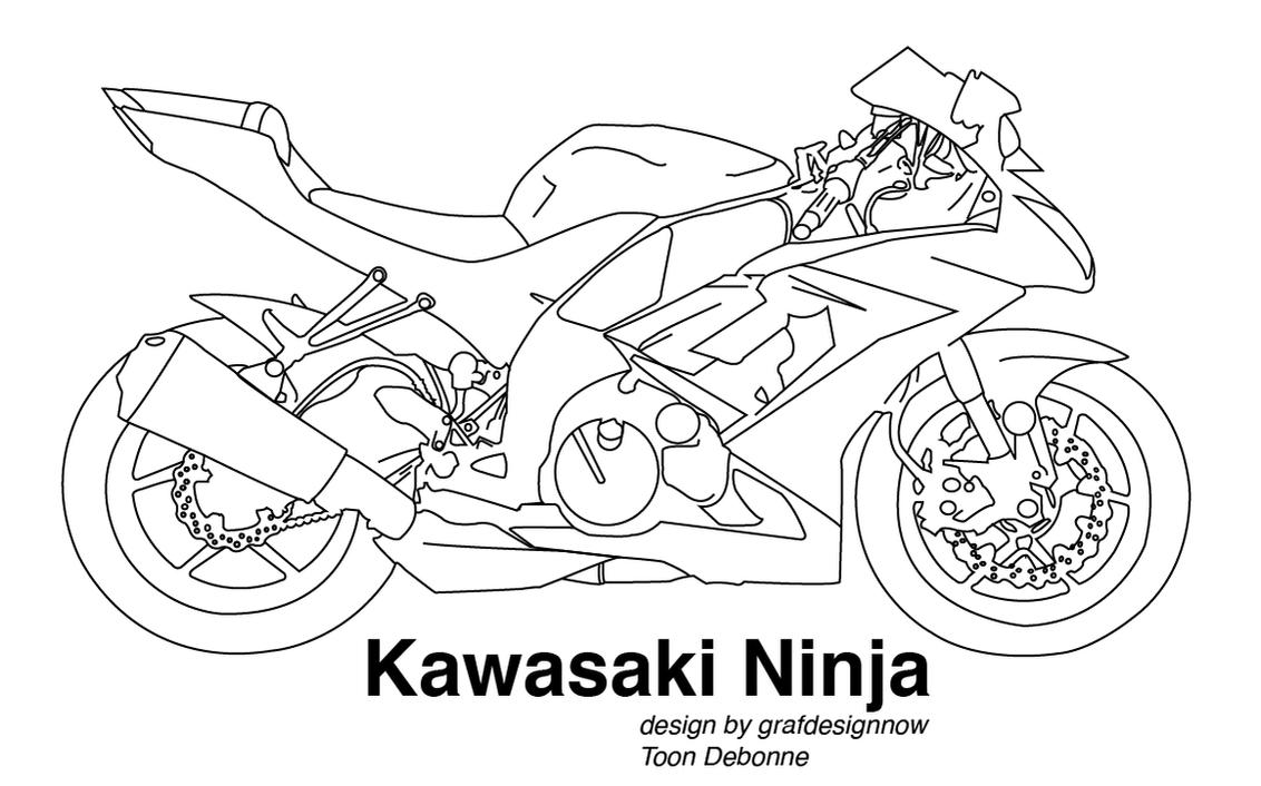 Ninja Zx10 2018 >> Kawasaki vectoreel by grafdesignnow on DeviantArt