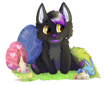 Easter YCH for Tessa by arvenick