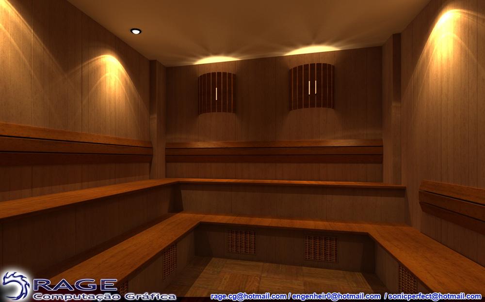 Sauna 001 by Elinewton