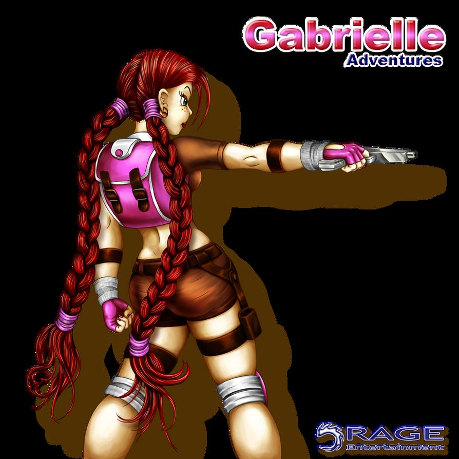 Gabrielle - 002 by Elinewton