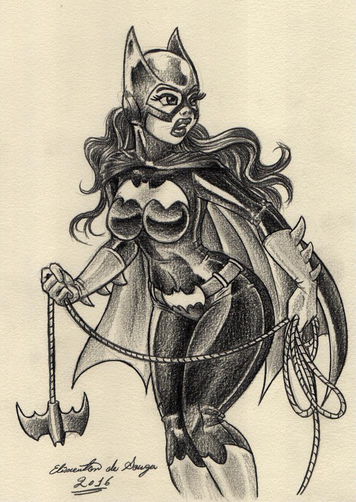 Elinewton - Batgirl 001 by Elinewton