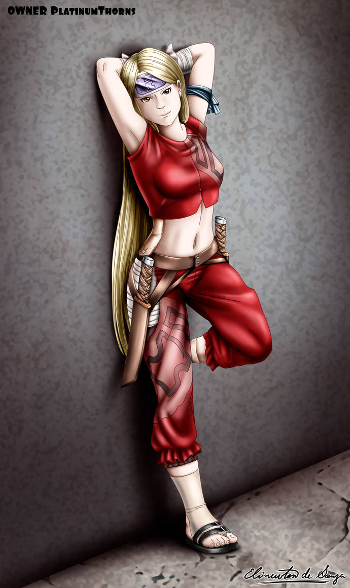 Commission - Naruto OC - My Style Shading by Elinewton