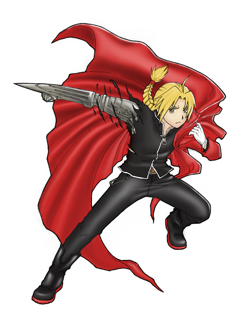 Edward Elric - Fullmetal Alchemist by Hinotsuki on DeviantArt