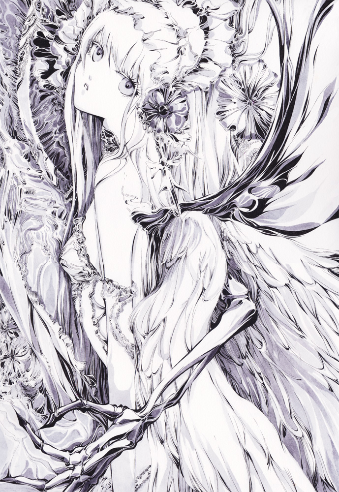Handmade illustration by chaamal