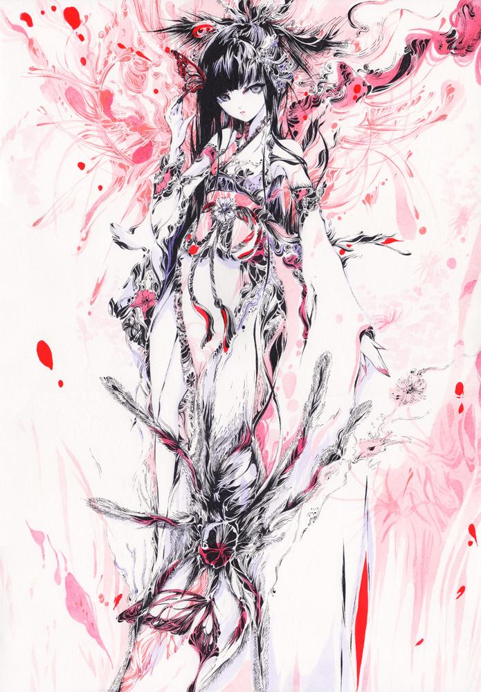 Higanbana by chaamal