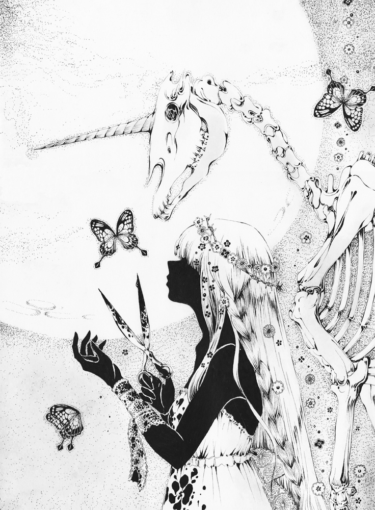 unicorn by chaamal