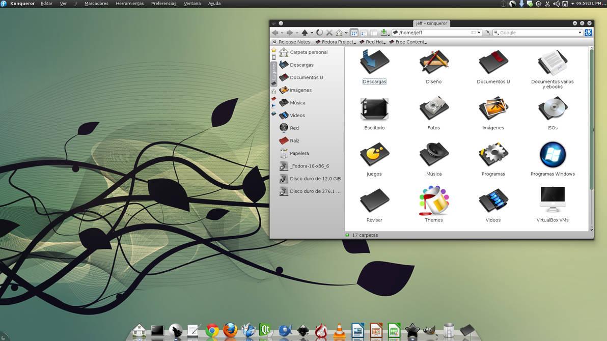 Desktop F16 KDE Nov 2011
