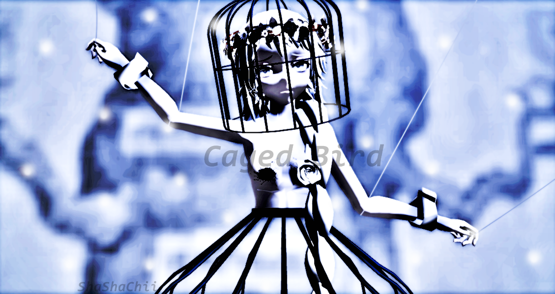 |Caged Bird| by Cheshire01Alice