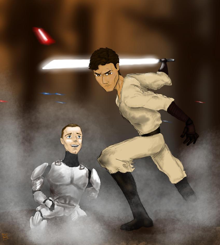 Jedi Commander Cody by nimbus2224