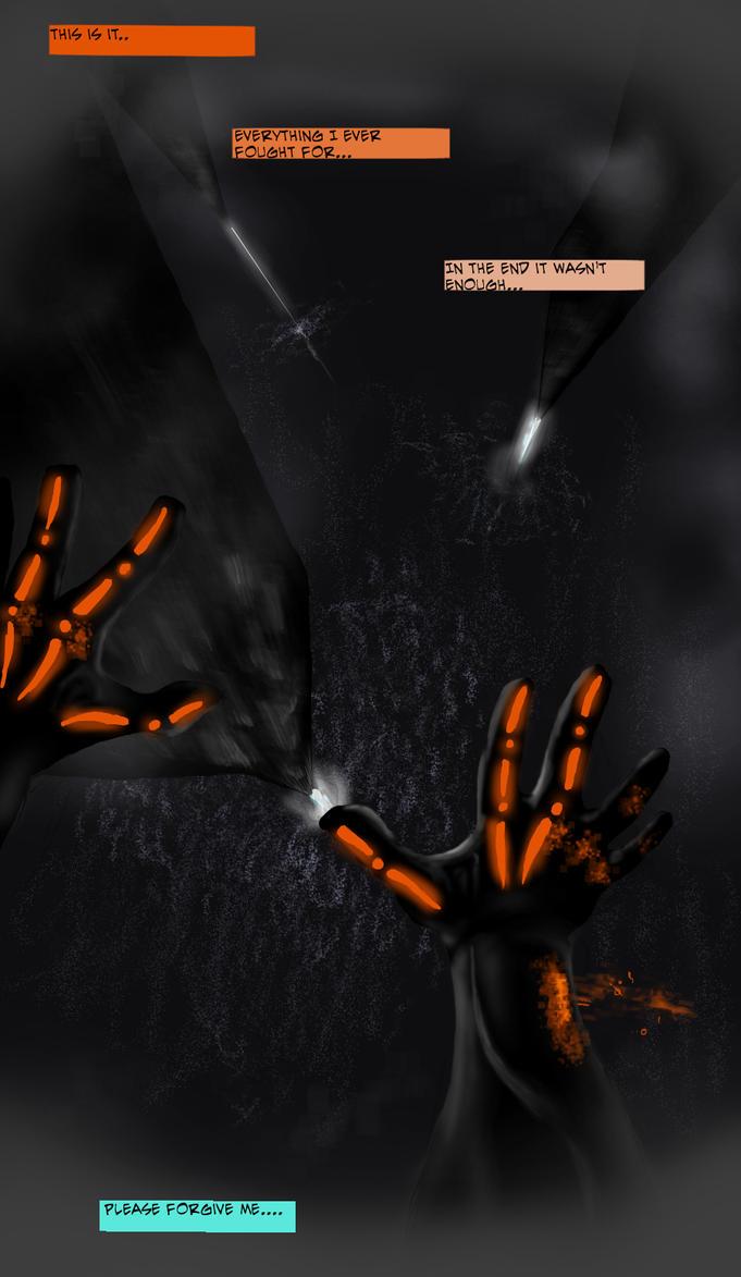 Tron: Requiem --Page 1 by nimbus2224