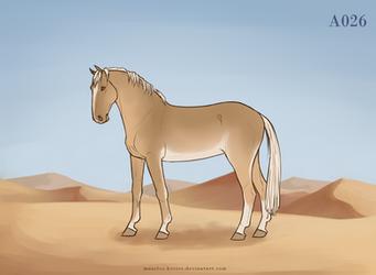 Maarlos Horse Import A026 by MaarlosImports