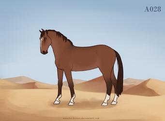 Maarlos Horse Import A028 by MaarlosImports