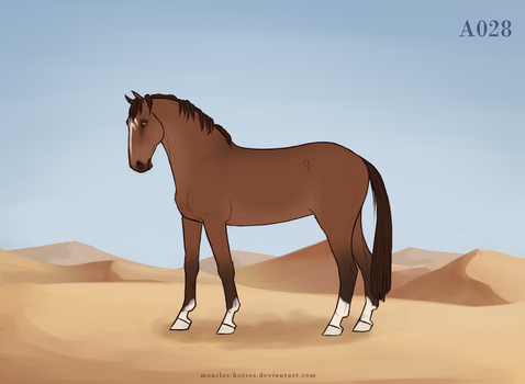 Maarlos Horse Import A028