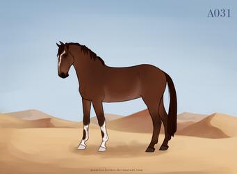 Maarlos Horse Import A031 by MaarlosImports