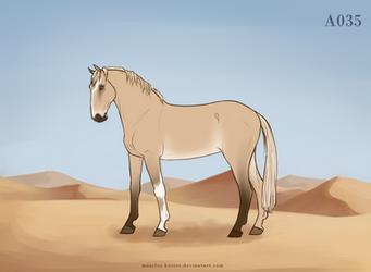 Maarlos Horse Import A035 by MaarlosImports