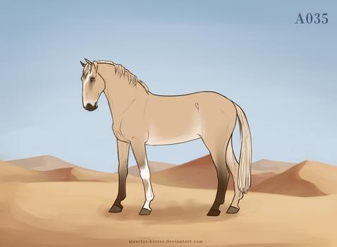 Maarlos Horse Import A035