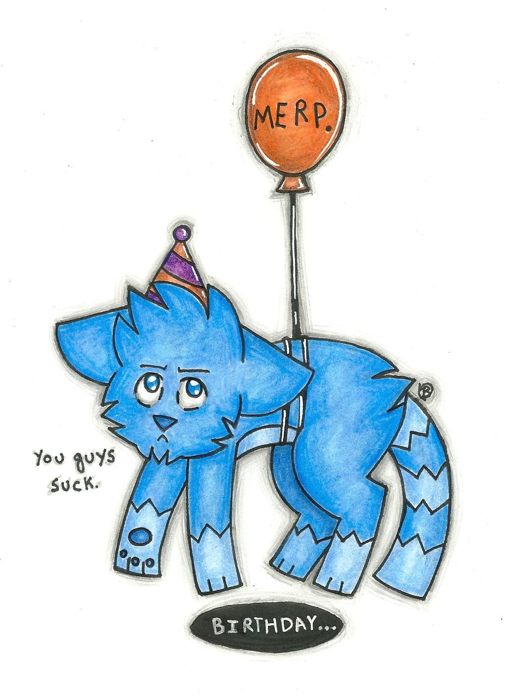 Happy Birthday! by Jersey-Cat
