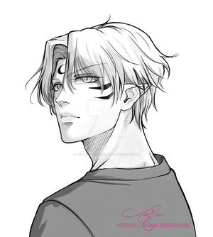 Sesshoumaru Short Hair Manga