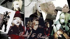 Ruki and Reita by BloodyWonderland