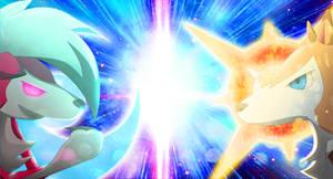 Pokemon Sun and Moon Lugarugan by LeoYanShin