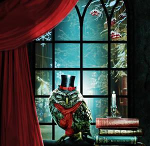 A Christmas Car-owl