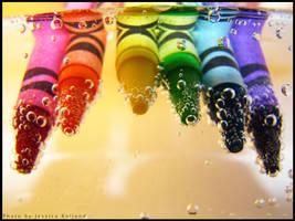 Crayons by JRollendz