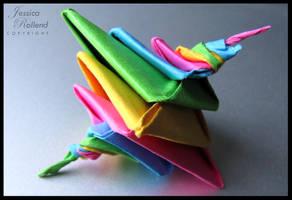 Tomoko Fuse's Espiral Origami by JRollendz