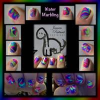 Toxic Neon Nails by JRollendz