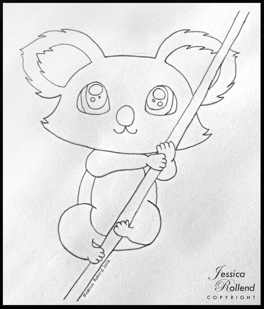 Koala Bear Drawing