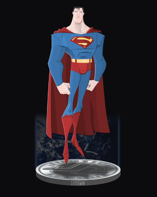 The Man Of Steel by DanSchoening