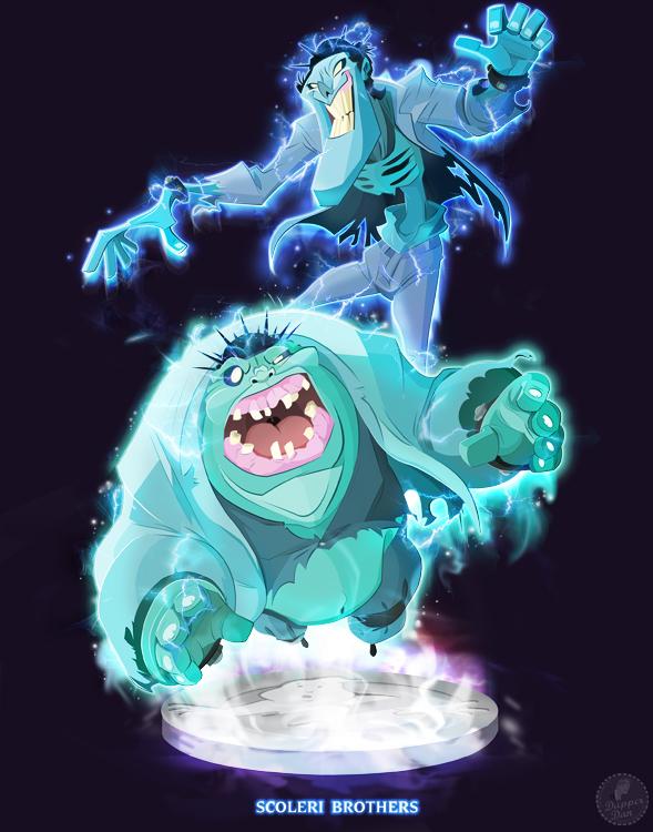 Ghostbusters - Scoleri Bros. by DanSchoening