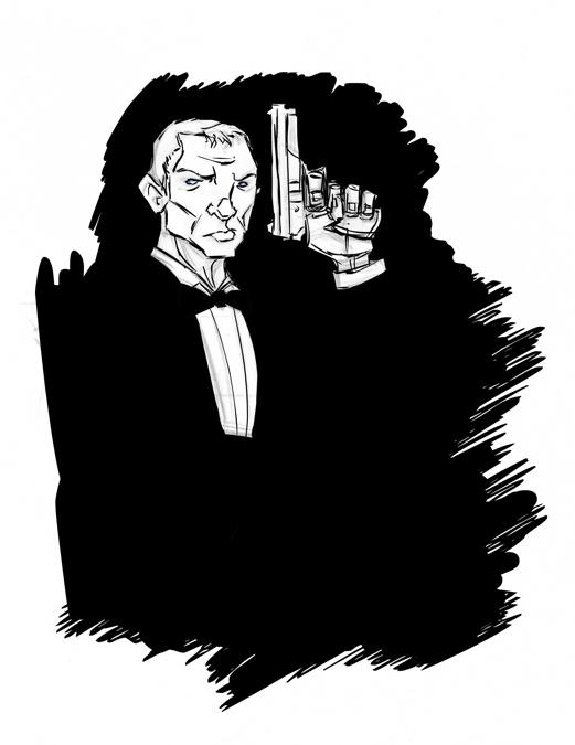 Bond... by DanSchoening
