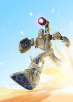 Solitudo Robot by DanSchoening