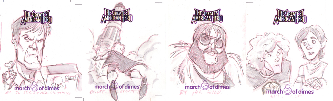 Greatest American Hero Cards by DanSchoening
