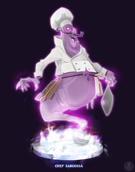 Ghostbusters - Chef Sargossa by DanSchoening