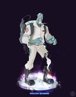 Ghostbusters - Winston Dedmore by DanSchoening