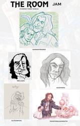 The ROOM - Sketch Jam by DanSchoening