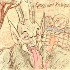Gruss Vom Krampus by DanSchoening