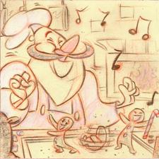 Cinnamon Roll Man by DanSchoening