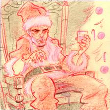 Bad Santa by DanSchoening