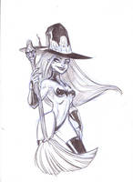 Witchie Boo by DanSchoening